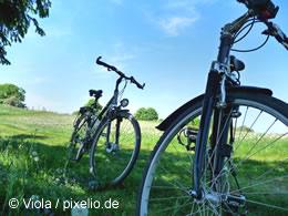 Fahrradfahren mit Kindern - auch im Urlaub immer beliebter!