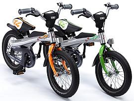 Rennrad 14 Zoll in Orange oder Grün