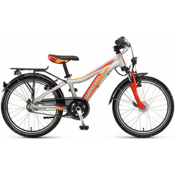 Kinderfahrrad Winora dash 20 3-G Nexus grau/rot/orange matt