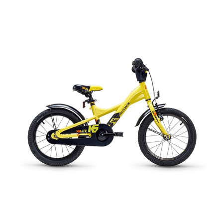 Kinderfahrrad S'cool XXlite 16 matt lemon/black