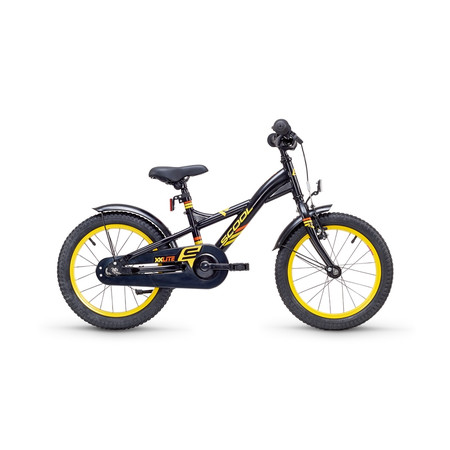 Kinderfahrrad S'cool XXlite 16 matt red/black