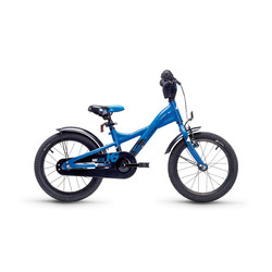 Kinderfahrrad S'cool XXlite 16 steel blue/red