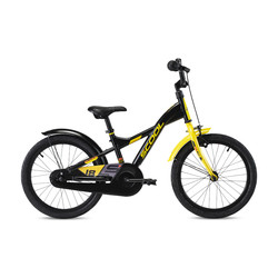 Scool XXlite steel 18 Modelljahr 2020 black/yellow matt