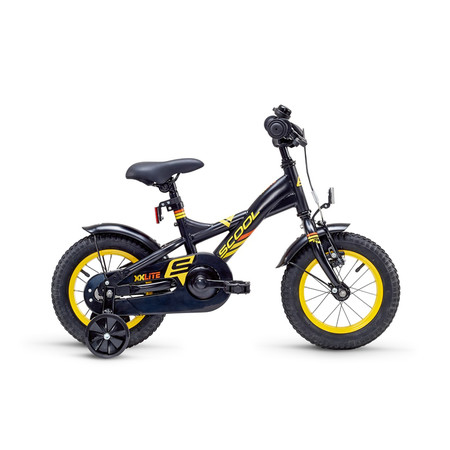 Kinderfahrrad Scool XXlite 12 Zoll yellow/black matt