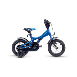 Kinderfahrrad Scool XXlite 12 Zoll steel blue/ yellow