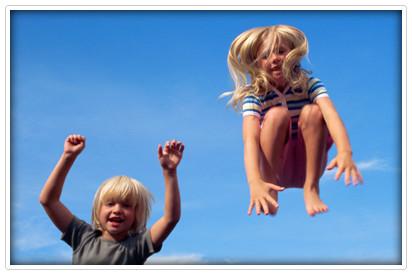 Kinder Bewegung